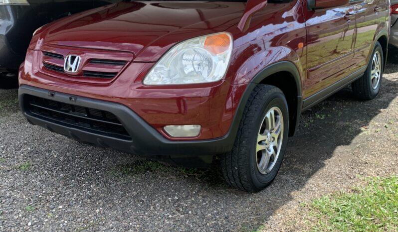 Honda CRV 2002 full